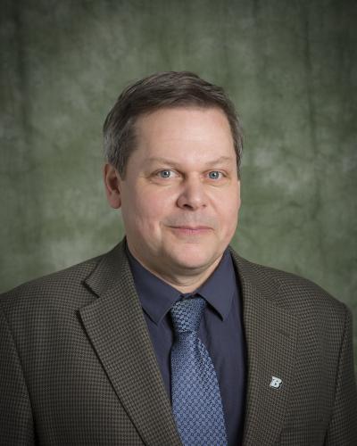 Eric Hoffman. (Foto: Jonathan Cohen/Binghamton University)