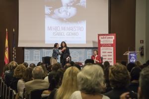 Presentación libro Mi hijo mi maestro Isabel Gemio Ana Pastor María Jesús Álava Reyes