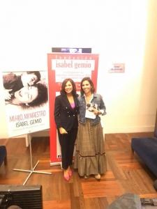Presentación libro Mi hijo mi maestro Isabel Gemio Ana Pastor
