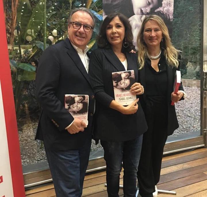 Presentación libro Mi hijo mi maestro Isabel Gemio Barcelona
