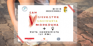Cartel V Carrera Solidaria San Silvestre Mohedana