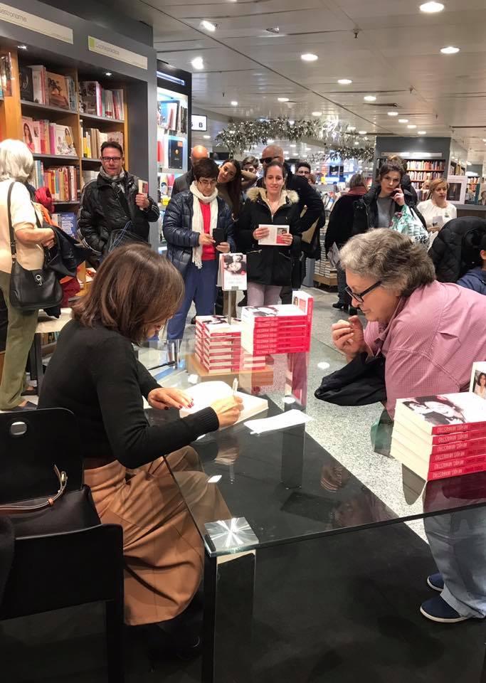 Isabel Gemio Presentación libro Mi hijo mi maestro Madrid