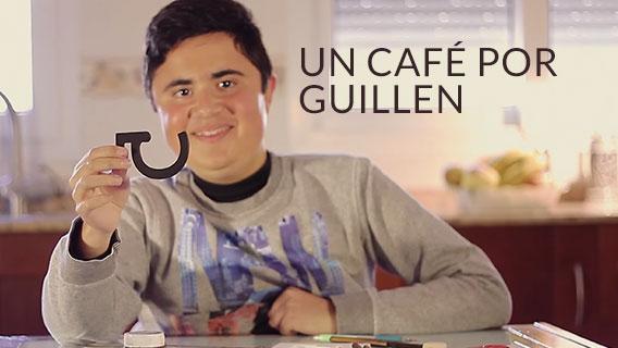 Imagen de la campaña de un café por Guillén