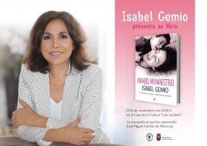 Presentación libro Mi hijo mi maestro Isabel Gemio Alburquerque
