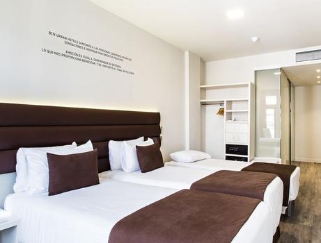 habitacion twin cama supletoria bcn urban hotels