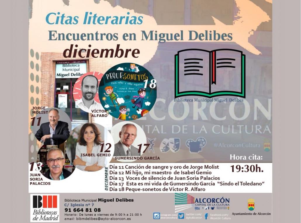 Presentacion libro Mi hijo mi maestro Isabel Gemio Alcorcon